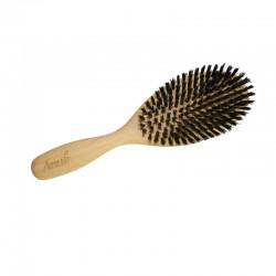 Brosse à cheveux - Plate en Sanglier