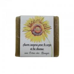 Savon Arbre à thé, Romarin, Ortie artisanal et SAF