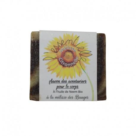 Savon artisanal Mélisse Citronnelle SAF