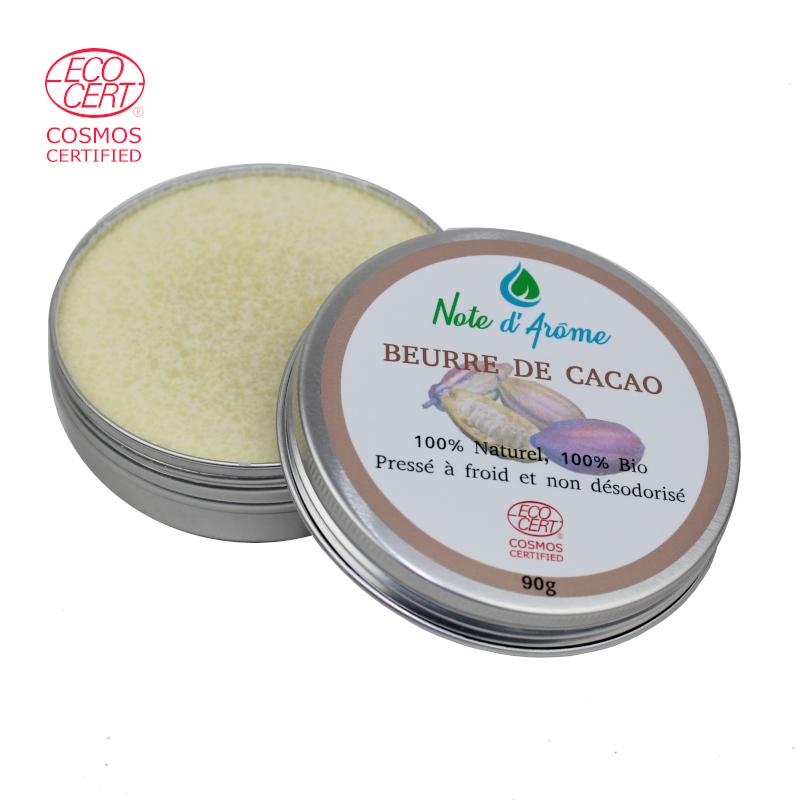 Beurre de Cacao brut biologique Note d'Arôme