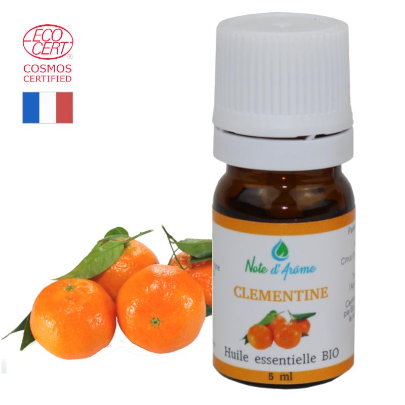 Huile essentielle biologique de Clémentine Note d'Arôme