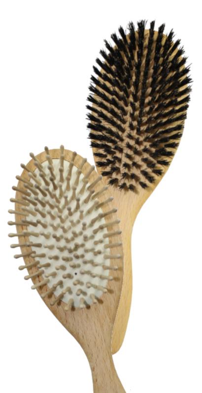 Brosses à cheveux bois